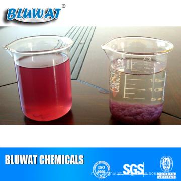 Agente descolorante de água para resíduos têxteis