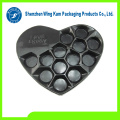 OEM Design Plastic Candies Heart Shape Boxes Packaging