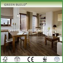Plancher de bois franc hickory gris foncé intérieur