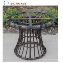 Новый дизайн круглый ротанга сад стол мебель (CF1447T)