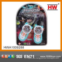 Walkie-talkie plástico del juguete de la venta caliente para los cabritos