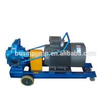 Pompe à huile C.a. 380v unité mobile voiture pompe, pompe à huile portable, mobile pompe avec grand ou petit débit