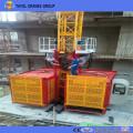 Double Cage Sc200/200 Galvanized Construction Elevator