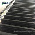 decorativo de aluminio valla de panel de almacén forjado calidad de flecha