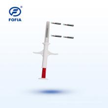 Animal ID Tag Implantable Microchip 134.2khz Animal Syringe