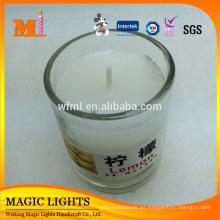 Nuevos tarros de cristal profesionales nuevos diseñados populares populares del producto para las velas