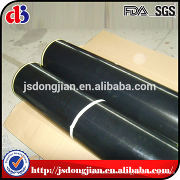 Стекловолоконная ткань с покрытием из тефлона с черным тефлоном и тефлоном