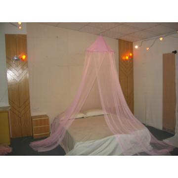 Fiber Pole On Top Cama King Size Mosquito Net