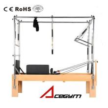 Pilates Equipment Pilates con trapecio completo (tablero de salto y caja y todos los resortes incluidos)