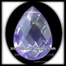 K9 Pendentif Lustre en Cristal Violet