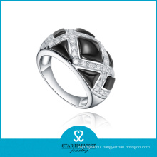 OEM Accepted Spanish Silver Ring Jewellery with Logo (R-0517)