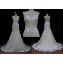 Гениально простое свадебное платье с рыбьим хвостом