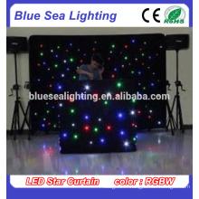Lumière LED à rideau étoile pour scène décoration dj décor décoration de mariage