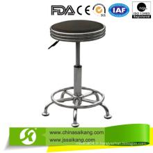 Chaise d'infirmière réglable en hauteur avec roues, chaise de bureau, tabouret réglable