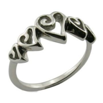 Art- und Weiseschmucksache-schicke klassische silberne Kristallkronen-Ring-Schmucksache-Geschenk