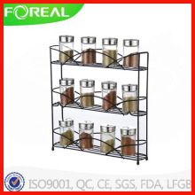3-Tiers Metal Wire Spice Rack