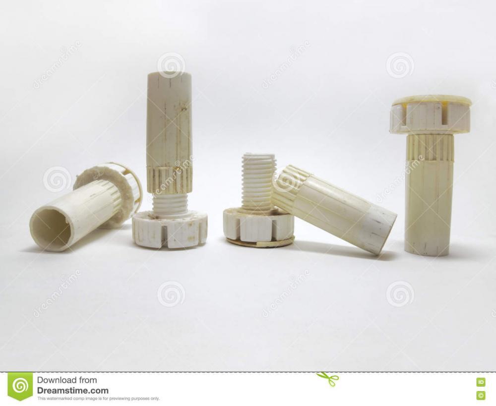Plastic Adjustable Legs Columns Furniture Telescopic 75730163