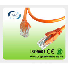 RoHS PVC/LSZH RJ45 UTP CAT5E PATCH CORD CABLE