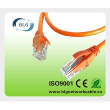RoHS PVC / LSZH RJ45 UTP CAT5E cabo cabo de remendo