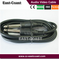 """Installer Parts 6Ft 6.35mm 1/4"""" Mono Male to Male Cable for Guitar"""