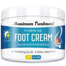 OEM/ODM Moisturizing Dry Skin & Soften Cracked Heels Foot Cream