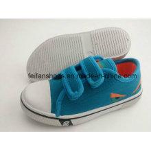 Chaussures de toile d'injection de type magique d'enfants à la mode FF727-3