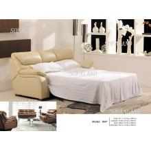 Современная Италия Кожаный диван-кровать 904 #