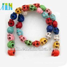 Turquoise Skull beads