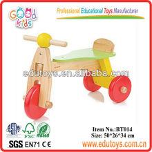 2012 nuevos juguetes de madera de Trike para los niños