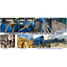 Máquina de descascamento de alta taxa de celulose