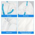 Isolamento descartável do avental do vestuário de proteção impermeável