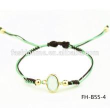 simple a jade stone bracelet