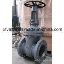 150lb 300lb 600lb Cast Steel Wcb Flange End Gate Valve