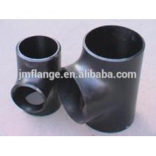 Acero suave jsg sgp a105 tubo de acero forjado tee montaje
