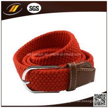 New Fashion Ployester Elastic Braided Ladies′ Belts