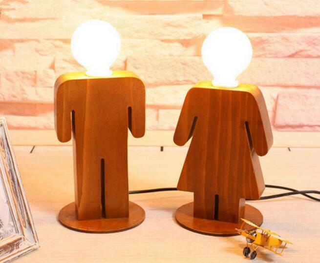 Retro Table Lamp