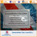 Pond Lake Landfill Sodio Bentomat Gcl Geosintético Revestimiento de arcilla (3000-7000G / M2)