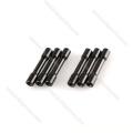 M2, M3, M4 de alumínio redondas coloridas subiram espaçadores para zangões