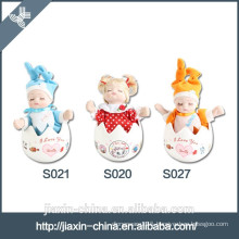 Top selling wholesale handmade musical porcelain dolls