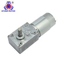 Motor da engrenagem de sem-fim da CC do ângulo direito 12V 24V de 90 graus