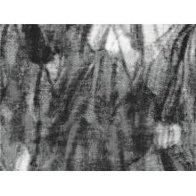 Flower Woven Wolle Polyester bedruckte Textil (SZ-070)
