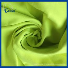 Tissu en suède en microfibre de couleur verte (QHD5509)