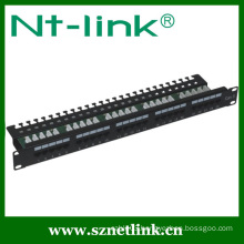 Rack mount 19 inch Cat3 25 Port Patch Panel
