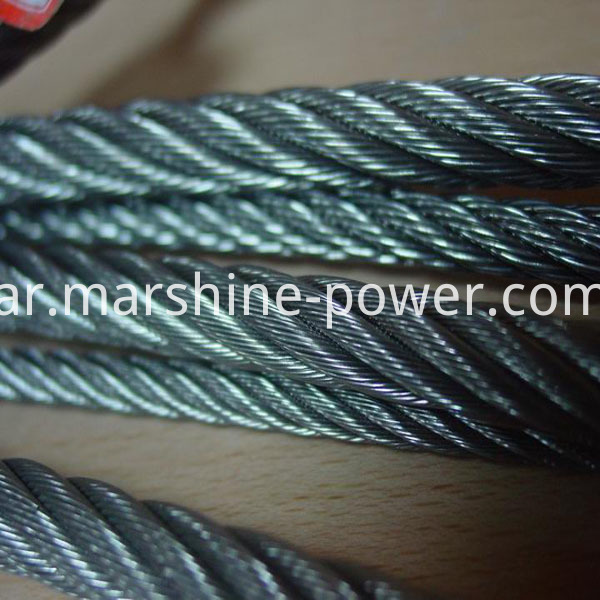 Braided wire rope