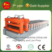 Hky 1100 Arc Bias Glazed Tile Roll Forming Machine