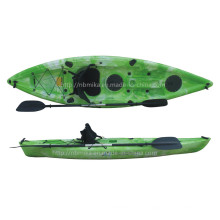 One Person Sit on Top Plastic Kayak Fishing Boats