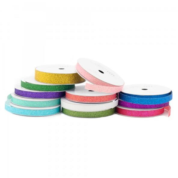 Colorful ribbon tape