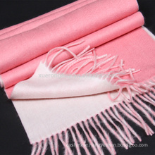 2017 new arrival cheap double faced thick cashmere scarf