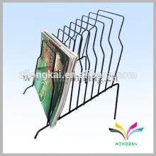 High Quality Factory Sale counter metal wire library file bookmark display stand