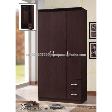 Spanplattenmöbel - Kleiderschrank 2